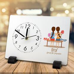 - Gerçek Dost Temalı Masa Saati