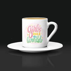 - Girls Rul The World Kahve Fincanı