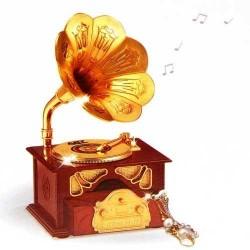 Gramofon Müzik Kutusu - Thumbnail