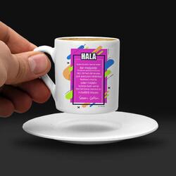 - Halama Hediyem İsimli Kahve Fincanı