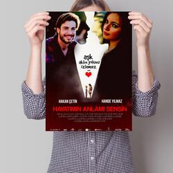 - Hayatımın Anlamısın Kişiye Özel Film Posteri