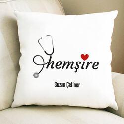 - Hemşire Sevgisi Hediye Kare Yastık
