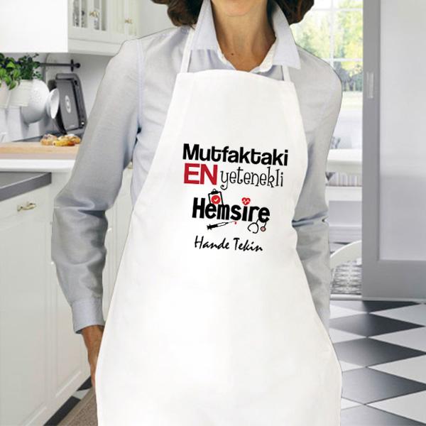 Hemşirelere Özel Mutfak Önlüğü