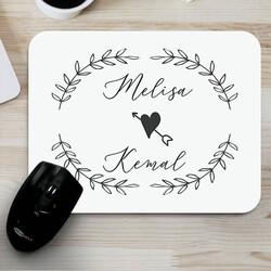 - İki İsimli Sevgililere Özel Mousepad