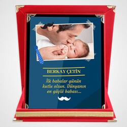 - İlk Babalar Günün Kutlu Olsun Plaket