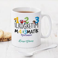 - İlk Öğretim Matematik Öğretmenine Hediye Kupa