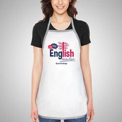 - İngilizce Öğretmenine Hediye Mutfak Önlüğü