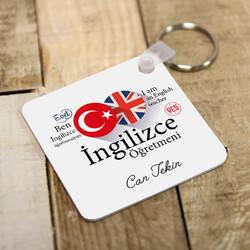 - İngilizce Öğretmenine Özel Hediyelik Anahtarlık
