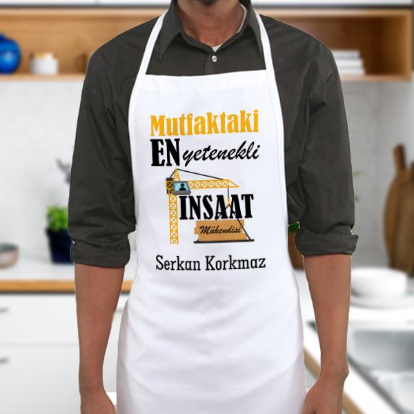 İnşaat Mühendislerine Özel Mutfak Önlüğü