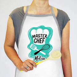 - İsme Özel Master Chef Mutfak Önlüğü
