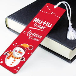 - İsme Özel Mutlu Seneler Kitap Ayracı