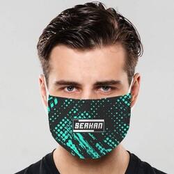 - İsme Özel Tasarım Ağız Maskesi