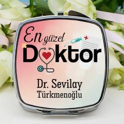 - Kadın Doktora Hediye Makyaj Aynası
