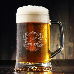 - Kadına Hediye İsme Özel Bira Bardağı