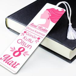 - Kadınlar Gününe Özel Kitap Ayracı