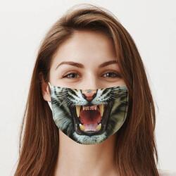 - Kaplan Ağzı Tasarım Yıkanabilir Maske
