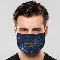 - Kar Tanesi İsme Özel Ağız Maskesi