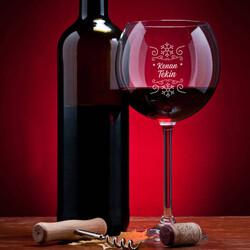 - Kar Tanesi İsimli Şarap Kadehi