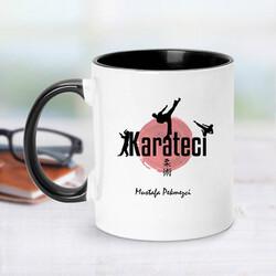 - Karateci İçin Siyah Kupa Bardak