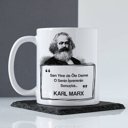 - Karl Marx Esprili Kahve Kupası