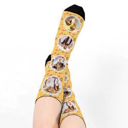 - Kişiye Özel 4 Fotoğraflı Çorap