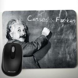 - Kişiye Özel Albert Einstein Mousepad