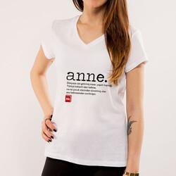 - Kişiye Özel Anne Sözcüğü Ne Anlama Gelir Tişörtü