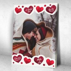 - Kişiye Özel Aşkın Tablosu Kanvas