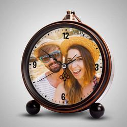 - Kişiye Özel Çalar Saat Bakır Rengi