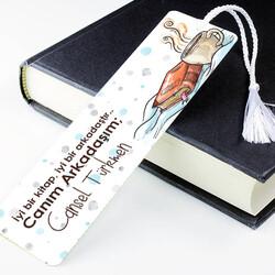 - Kişiye Özel Canım Arkadaşım Kitap Ayracı
