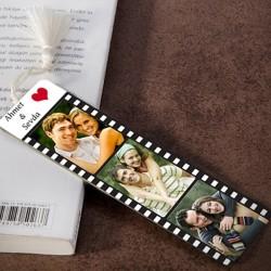 - Kişiye Özel Film Şeridi Kitap Ayracı