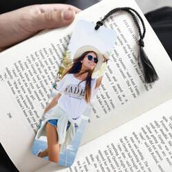 - Kişiye Özel Fotoğraflı Kitap Ayracı