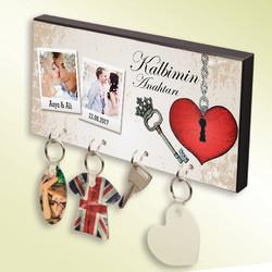 - Kişiye Özel Kalbimin Anahtarı Anahtar Askısı