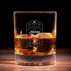 - Kişiye Özel Kardan Adam Viski Bardağı