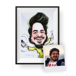 Kişiye Özel Karikatür - Thumbnail