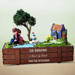 - Kişiye Özel Kasalı Aşk Minyatür Bahçesi