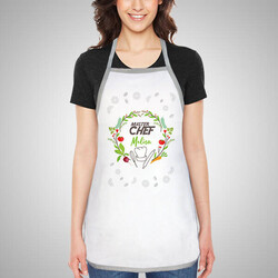 - Kişiye Özel Master Chef Mutfak Önlüğü