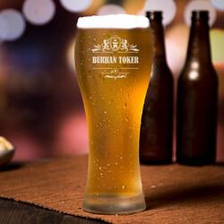 - Kişiye Özel Premium Uzun Bira Bardağı