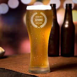 - Kişiye Özel Şık Uzun Bira Bardağı
