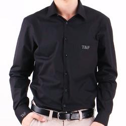 - Kişiye Özel Siyah Erkek Gömleği