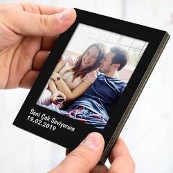 - Kişiye Özel Siyah Polaroid Fotoğraf Albümü