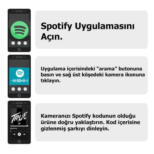 Kişiye Özel Spotify Ses İzi Bardak