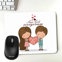 - Kişiye Özel Tasarım Romantik Mousepad