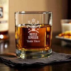 - Kişiye Özel Yılbaşı Temalı Viski Bardağı