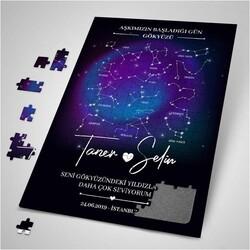 - Kişiye Özel Yıldız Haritası Puzzle
