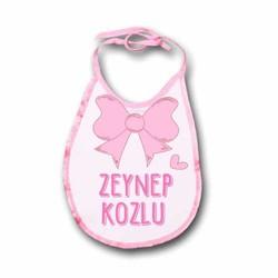 - Kız Bebek İçin Kurdeleli Mama Önlüğü