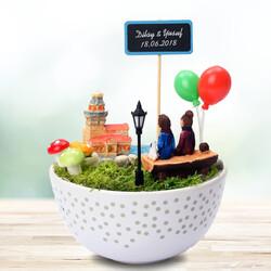 - Kız Kulesi ve Aşkımız Temalı Minyatür Bahçe
