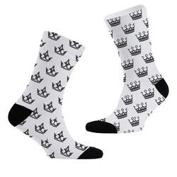 - Kral ve Kraliçe Tacı 2li Çorap Seti