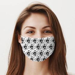 - Kuru Kafa Tasarım Yıkanabilir Maske