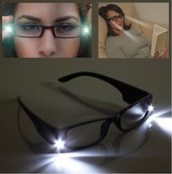 - LED Işıklı Kitap Okuma Gözlüğü
